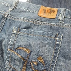 Mens Chip and Pepper Denim Blue jeans 34x34